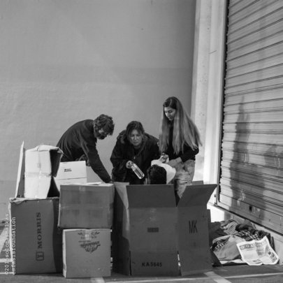 The Emfasis' Street Workers offer basic supplies