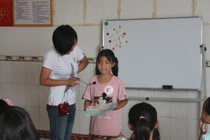The C4K program helped Gou heal from her Trauma