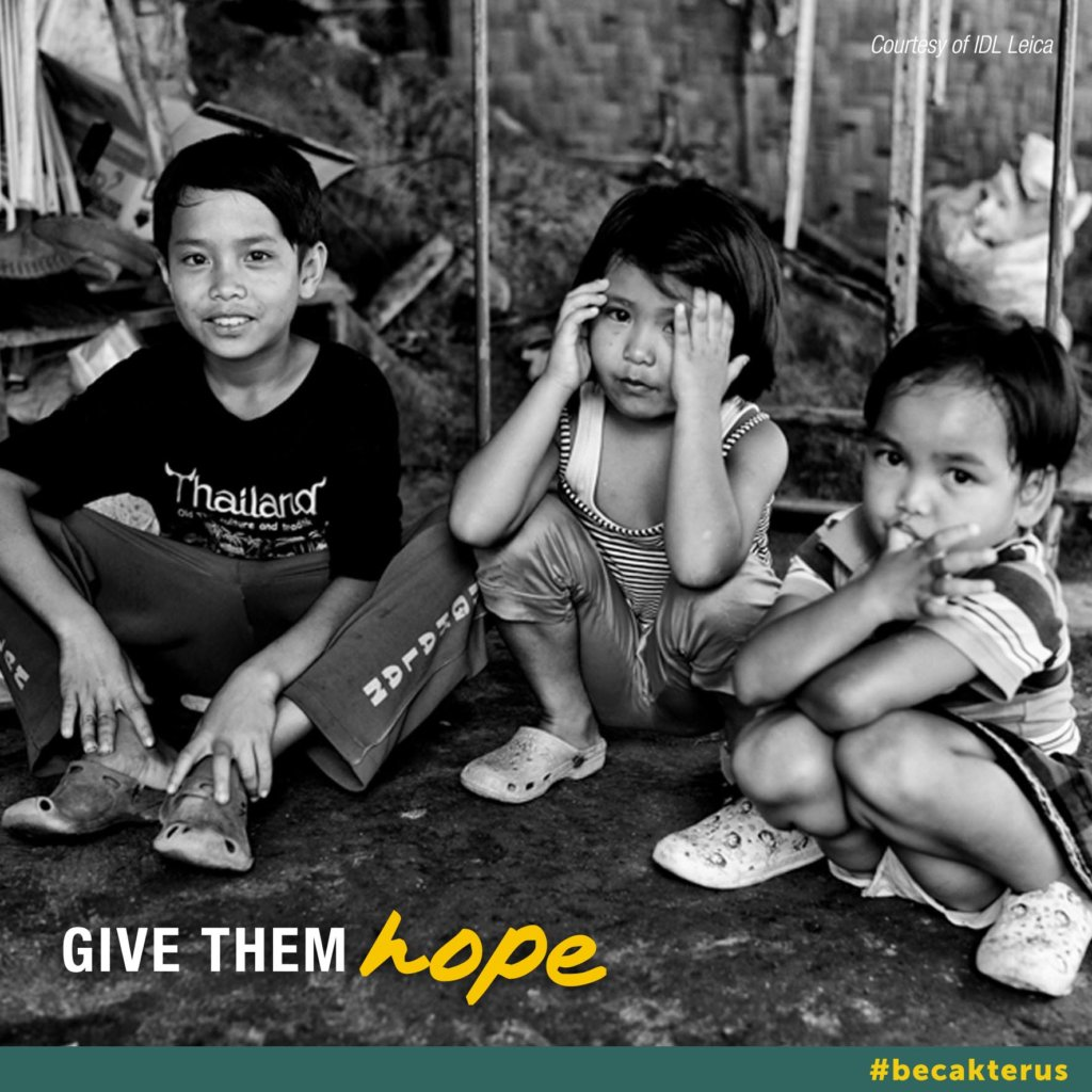 Urgent call to action Indonesian children need you
