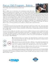 Bolivia Focus 1365 Profile (PDF)