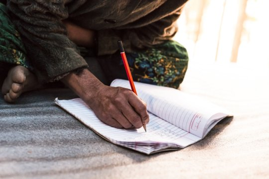 Literacy classes are empowering for women.