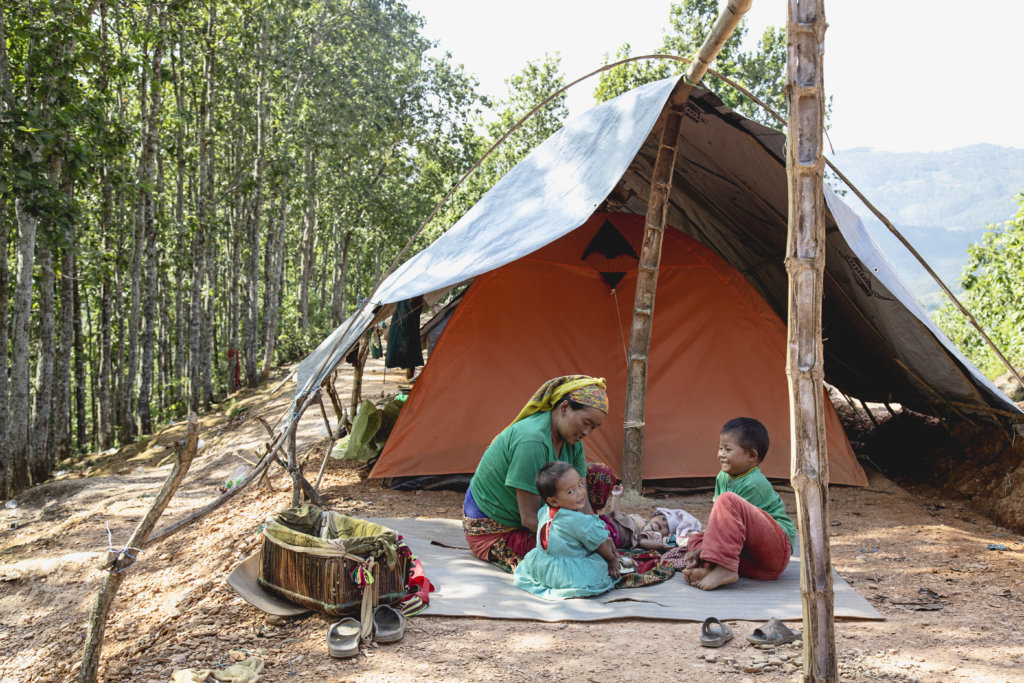 Female Friendly Spaces in Post-Quake Camps - Nepal