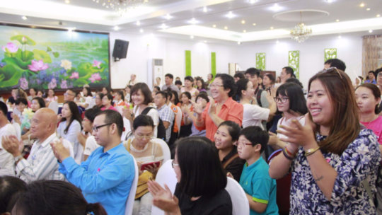 Nearly 400 people attended the event on 24th Sep