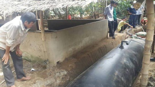HPDE Biogas System
