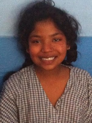 Sunita even smiled when she was in the hospital!