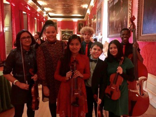 Gypsy Band at Kensington Palace
