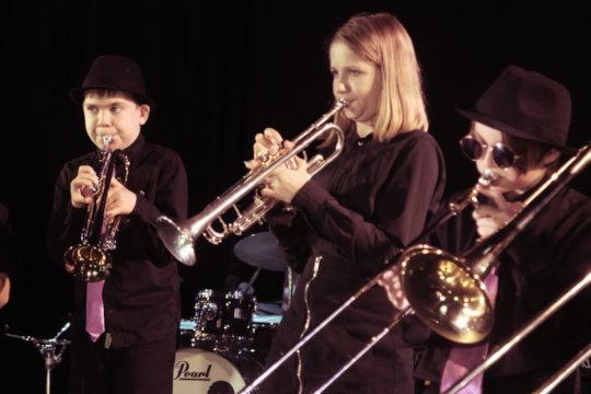 Jazz Performance at the Battersea Circus Garden