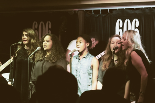 Songwriting Students perform at 606 Club