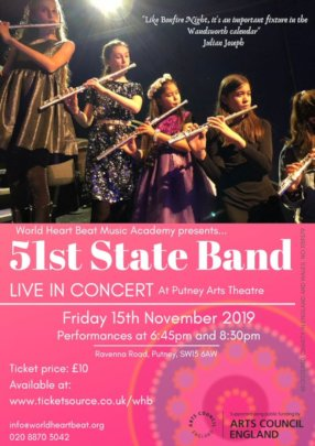 51st State Band Flyer