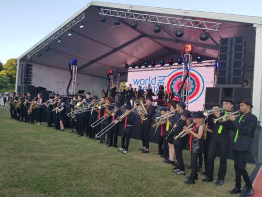 Full Second Line Band Line Up