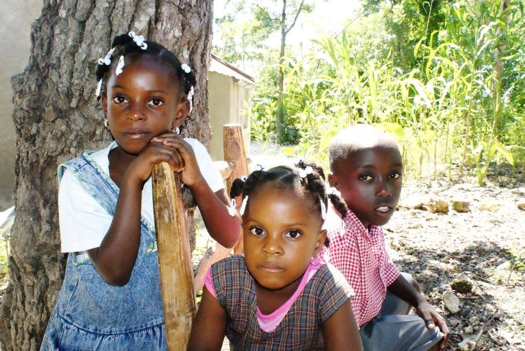 Children in Grand Boulage