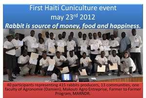 Haitian Cuniculture Event!