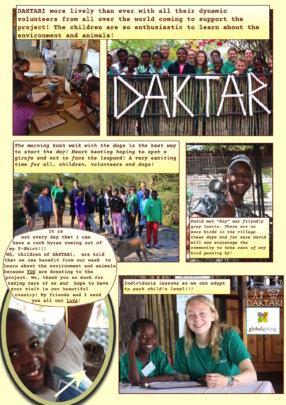 Experience at DAKTARI