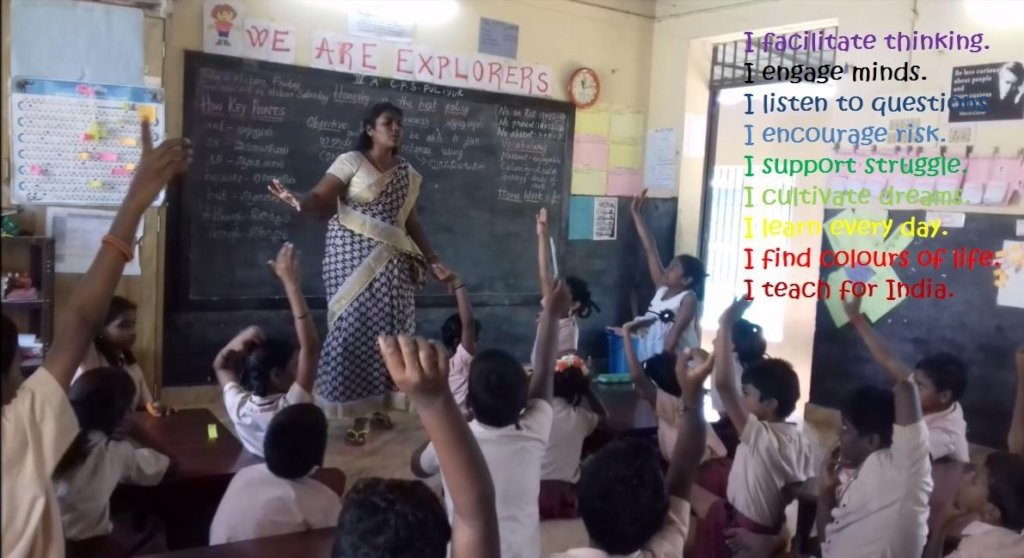 Reports from Teach For India - GlobalGiving