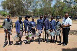 Farming inputs donated to schools