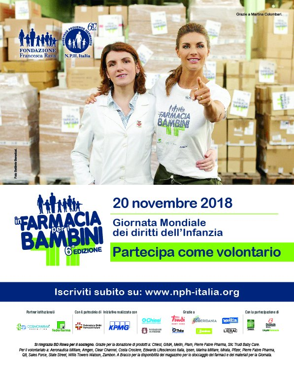 20 November: In the farmacy for the children