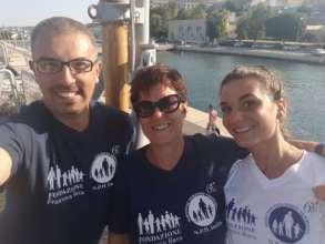 Alessandr, Maita and Viola, team 117