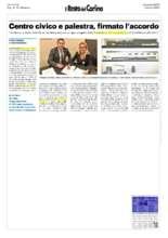article from Il resto del Carlino (PDF)
