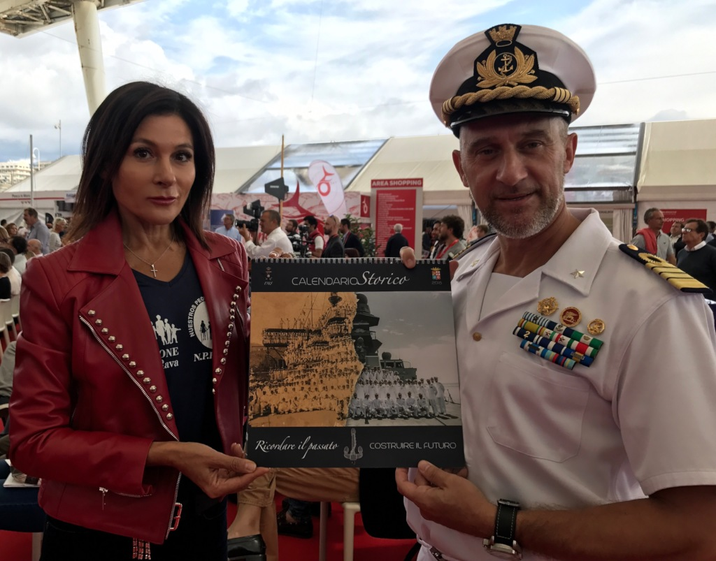 The calendar being presented in Genova