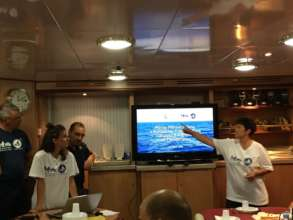 Conference on board Patroller Sirio