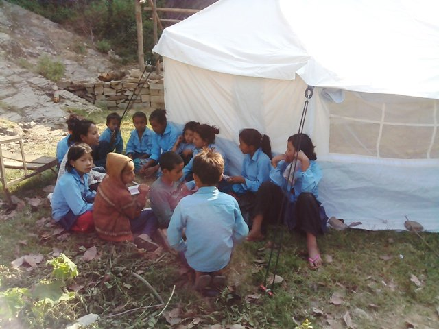 Help 1,400 Children in Nepal to Go Back to School