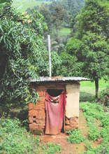 A covered but uncleaned latrine