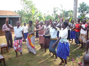Ugandan Girls Show Susan and Arif how to dance