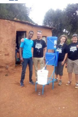 French People donated Nanofilter in Tanzania