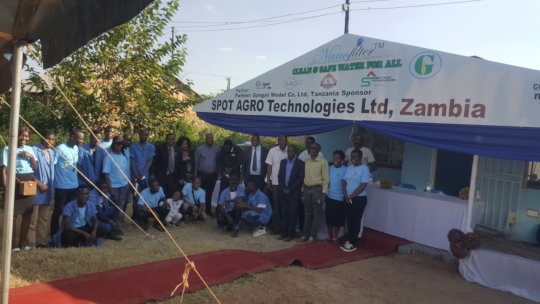 Nanofilter office and staff in Zambia