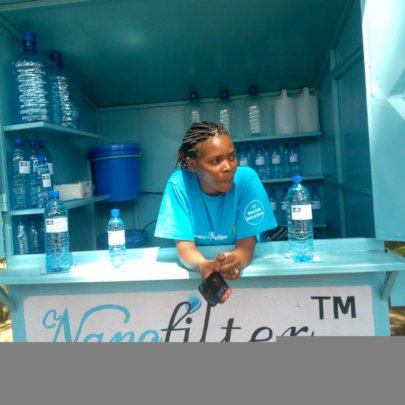Recently opened Nanofilter Water Station - Arusha
