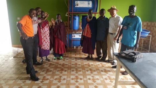 Tetra-Nanofilter at Enkikaret School - Tanzania