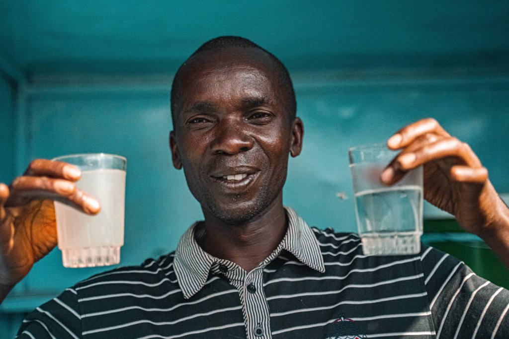 700 Low-cost Sustainable Water Filter for Tanzania