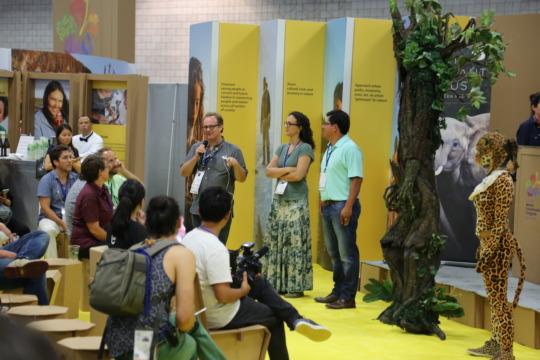 Creators discuss play at #NatureForAll Pavilion