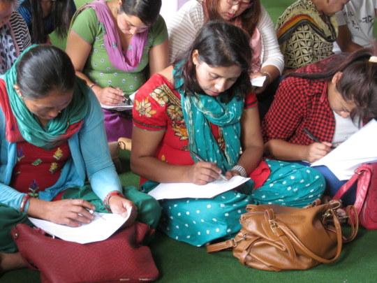 Training in Kathmandu