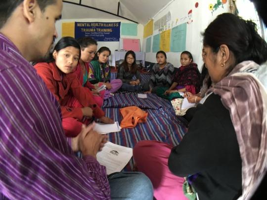 Mental Health Training in Nuwakot