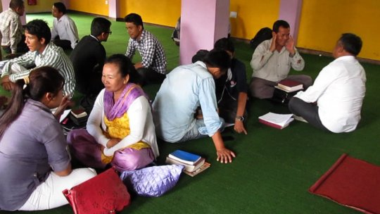 Mental Health and Trauma Training in Nepal