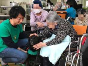 Animal Assisted Therapy at nursing home