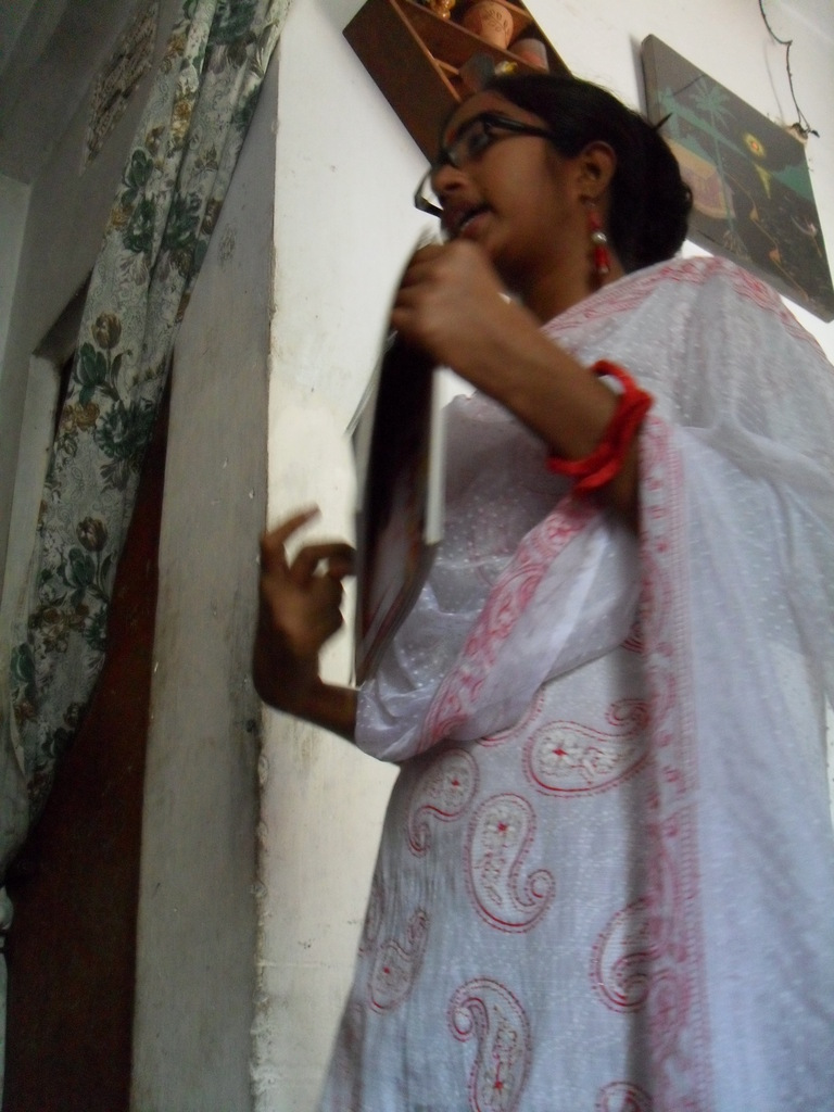 Monira Akhter, peer educator