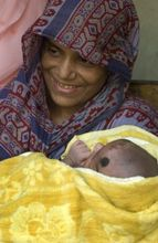 Bangladesh-Mother with Child