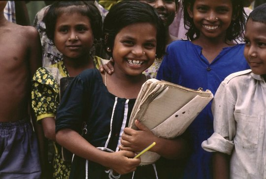 Educating young girls in Bangladesh