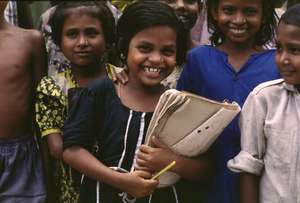 Educating young girls in Bangladesh