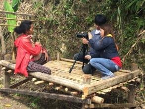 An interview with an indigent mother, An-An.