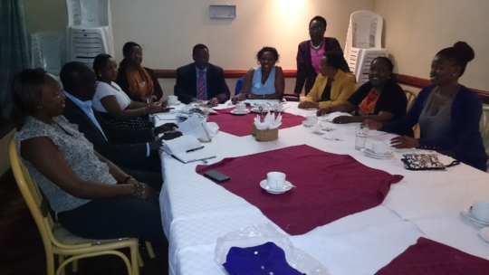 Ndia walk planning commitee meeting