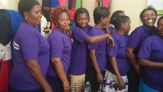 Ndia women and their patron having fun