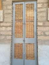 Door to the science laboratory
