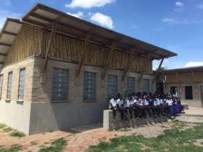 New Science Laboratory at Milembe School.