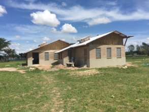 New science laboratory and classrooms at Milembe.
