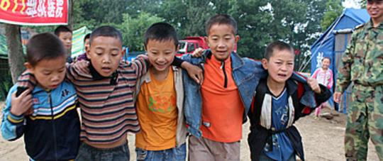 Students at Nanba, China School