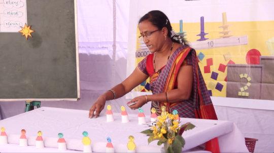 Mrs. Geeta Basarakod - 3rd prize winner