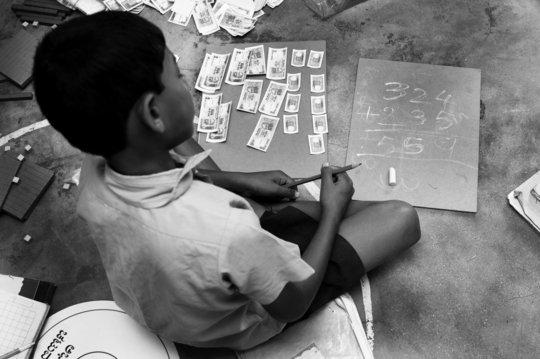Paper money makes Math a hoot!